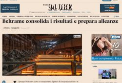 AFV Beltrame Group sul SOLE 24 Ore