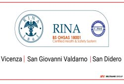 All our italian plants are now certified according with the OHSAS 18001 Certification