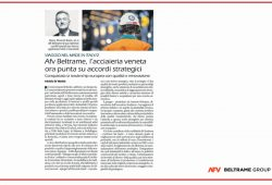 "An article published by ""Il Giornale"" on the growth of the Gruop"
