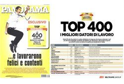 AFV Beltrame Group in the Top 400 best workplace in Italy