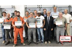 13 New Green Belts in Stahl Gerlafingen