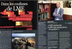 An article and photo–essay about LME