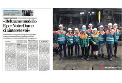 France's Ambassador to Rome visits AFV Beltrame Group