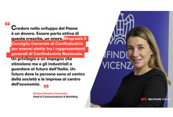 Barbara Beltrame member in the board of national Confindustria