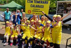 Donalam sponsored the National Mini-Basketball Tournament in Costinesti