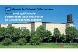 AFV all'evento organizzato da European Steel Technology Platform